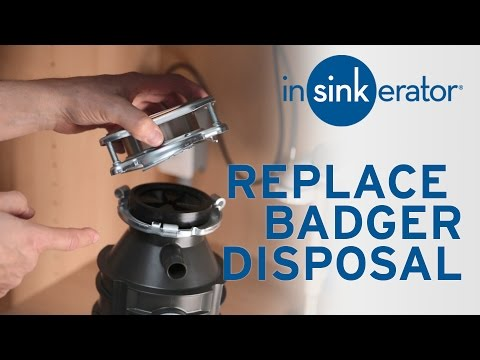 Replace InSinkErator Badger with Badger Disposal