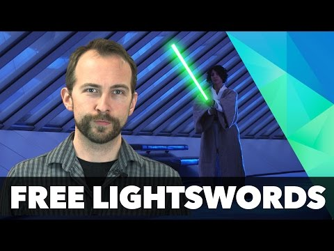 How to make lightsabers for free