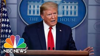 Trump Holds News Conference   NBC News