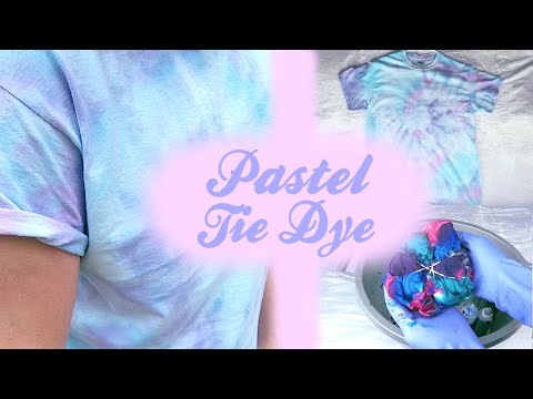 ♡ PASTEL Tie Dye DIY 3 Dying Techniques ♡ | Jonathan Eiter