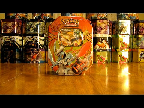 30 Pokemon Tin Opening:  White Kyurem EX