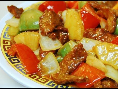咕嚕肉 How to make: Sweet & Sour Pork : Authentic Cantonese Style