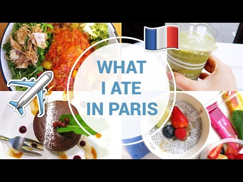 What I Ate In A Day | VEGAN | Paris, France ✈