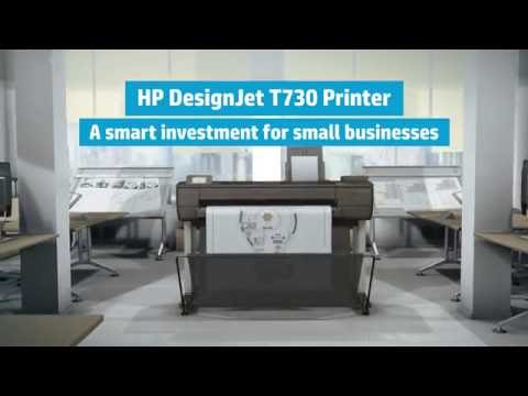 Low Cost High Performance A1 Plotter Printer Singapore HP T730