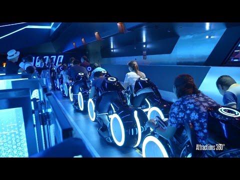 [HD] Amazing TRON Coaster Ride-through - Shanghai Disneyland