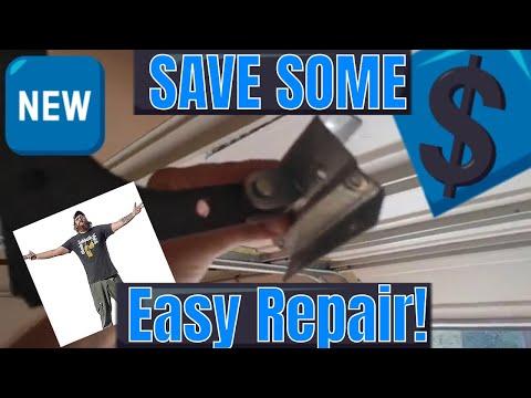Wayne Dalton Garage Door Top Panel Damage - How To DIY