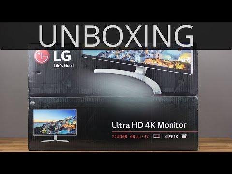 LG 27UD68 IPS 4K Monitor with FreeSync Unboxing | TechCentury