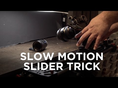 How to Create Beautiful Slow Motion Camera Movement Shots
