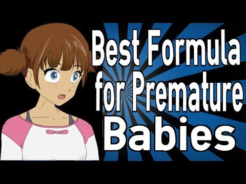 Best Formula for Premature Babies