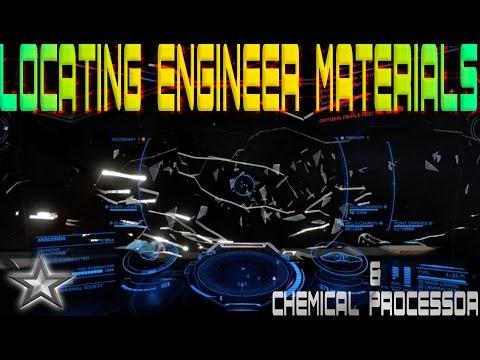Elite: Dangerous Engineers Locating Engineer Materials