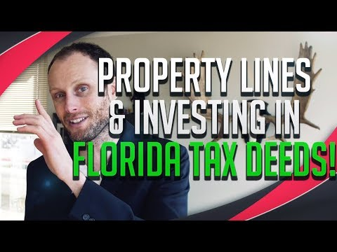 Tax Lien Investing, Property Lines & Tax Deeds In FLORIDA!