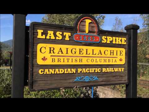 Visited  the last spike of Canadian Pacific Railway