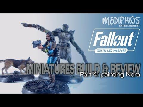 Modiphius Fallout Wasteland Warfare Miniatures 4: Painting Nora (Painting a Vault Dweller)