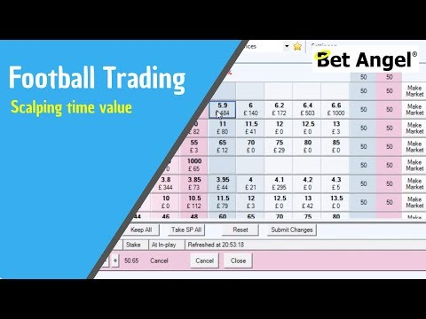 Betfair trading - Scalping time value on football markets - Peter Webb