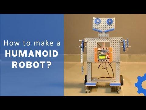 How to make a Humanoid Robot using Robotronics FULL