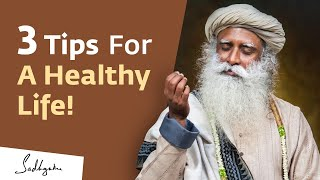 Do These Three Things Every Day for a Healthy Life | #WorldHealthDay