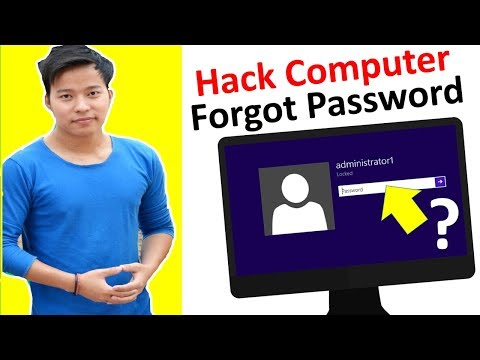 How to Reset computer & laptop forgot password |Windows10 | Windows8 password reset kese kare hindi
