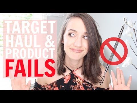 Target Haul and Product FAILS
