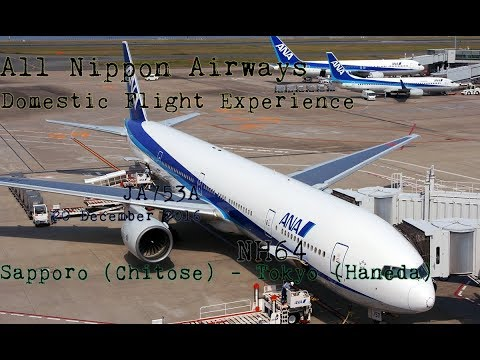 ANA Domestic Flight Experience: NH64 Sapporo (Chitose) to Tokyo (Haneda)