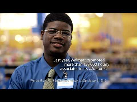 Promotions at Walmart - William's Story