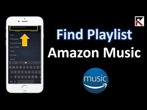 How To Find A Playlist Amazon Music