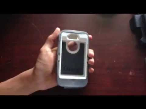 OTTERBOX DEFENDER WHITE/GUNMETAL GRAY REVIEW FOR THE iPHONE 4/4S