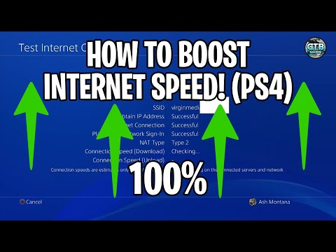 How To Boost Your Internet Connection!! (PS4) 2018