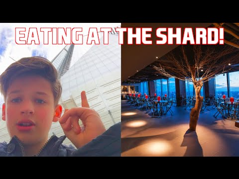 VIEW FROM THE SHARD   Hutong Restaurant   Vlog