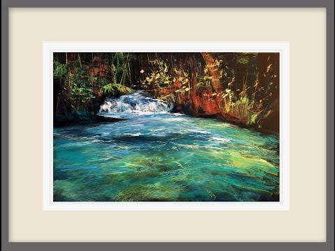 Painting Water Effects in pastel