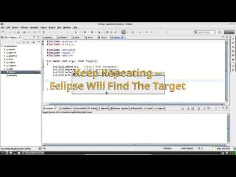 Video 4: Eclipse, Linux App, Compiling, Running, and Debugging