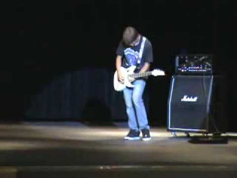 Talent Show Master of Puppets (9th grade) 1st Place!!