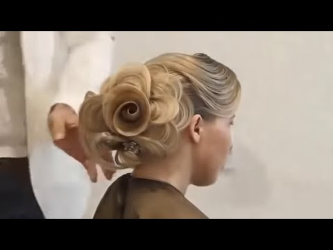 How to make rose of your hair