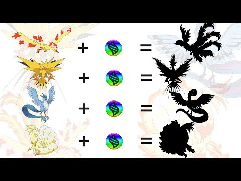 Fan Requests #3: Mega Legendary Birds and Mega Ninetales - Pokemon Mega Evolution Fanart Series