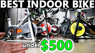 BEST indoor cycling bike UNDER $500 for Apple Fitness+ cycling or Peloton App, etc