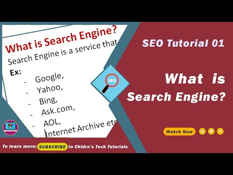 SEO Essentials - 01 - What is Search Engine ?