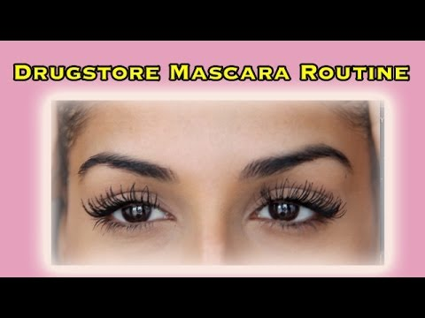Mascara Routine - How to Make your Lashes look Thicker and Longer