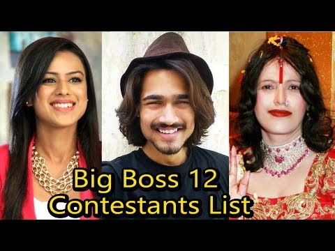 LEAKED BIG BOSS 12 Celebrity Contestants List | That You Should Know
