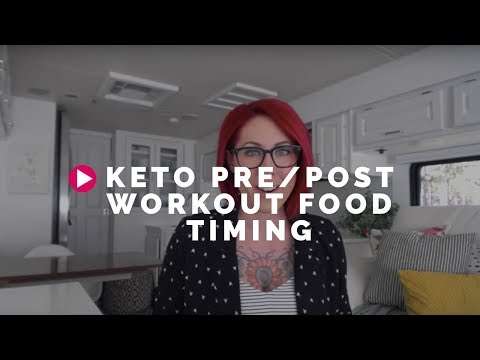 Keto Pre/Post Workout Food Timing
