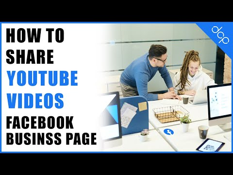 How to share a youtube video on Facebook business page tutorial- DCP Web Designers Tutorial