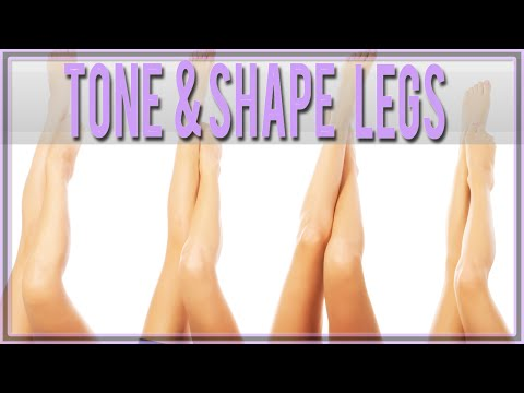 Lower leg and around knee toning Exercise for Beginners