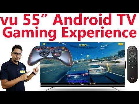 Hindi || VU 55inch android TV Gaming Experience