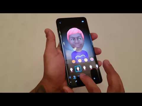 Samsung Galaxy S9 PLUS AR Emoji Demo!!!!