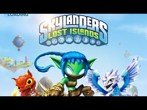 Skylanders Lost Islands Android GamePlay Trailer (HD) [Game For Kids]