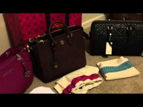 8551fa95202e Designer Handbag Holiday Haul 2014 - Tory Burch   Michael Kors   Kate Spade