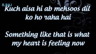 Abh Hai Samne ♥ -  Wid English Lyrics