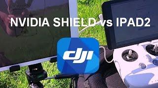 In depth review of NVIDIA Shield K1 for screen recording DJI Go app