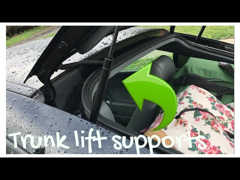 How to replace Air Struts/Trunk Lift Supports on Audi TT/A4/A6