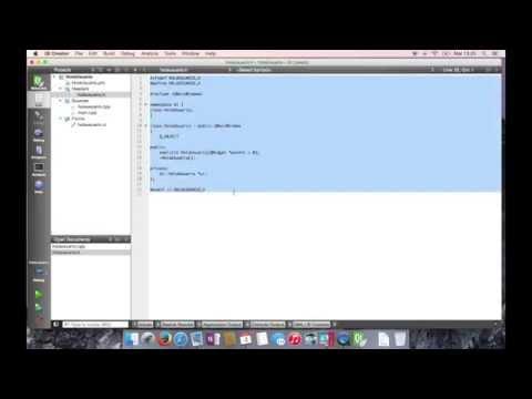 Hola Mundo Multiplataforma Qt :: C++ Hola usuario