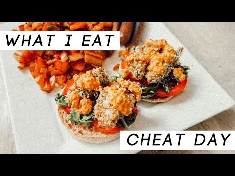 VEGAN WHAT I ATE TODAY: CHEAT DAY/COMFORT FOOD!