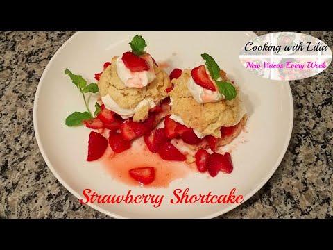 Strawberry Shortcake Recipe - How to make Strawberry Shortcake
